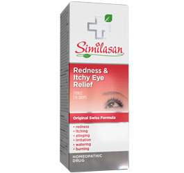 redness and itchy eye relief